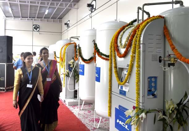IND: Delhi Govt Installs Oxygen Plant At Deep Chand Bandhu hospital