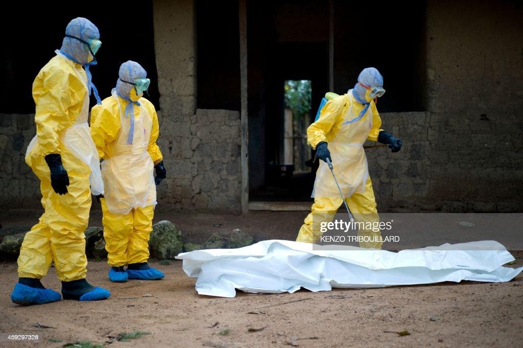 GUINEA-HEALTH-EBOLA-WAFRICA : News Photo