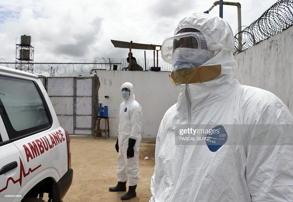 LIBERIA-WAFRICA-HEALTH-EBOLA : News Photo