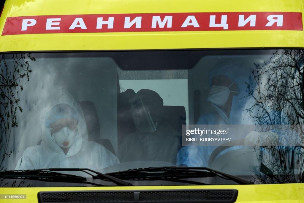 RUSSIA-HEALTH-VIRUS : News Photo