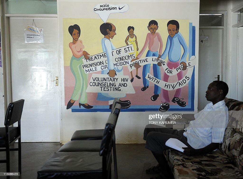 TO GO WITH AFP STORY: Health-AIDS-annive : Nachrichtenfoto