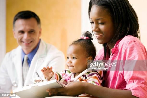 Im Gesundheitswesen baby