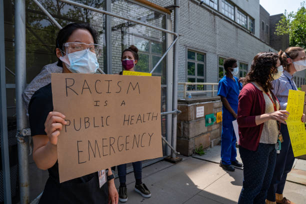 NY: New York Healthcare Workers Demonstrate Outside Hospitals For Black Lives Matter