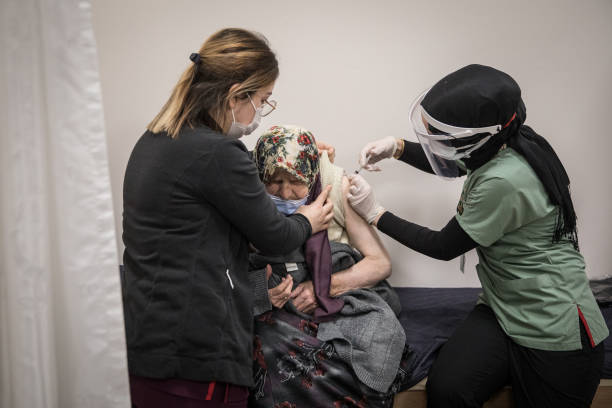TUR: Turkey Begins Covid-19 Vaccinations for Civilians Over 80 Years Old