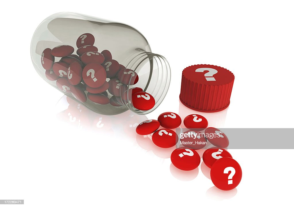 healthly pills out of the jar stock photo getty images