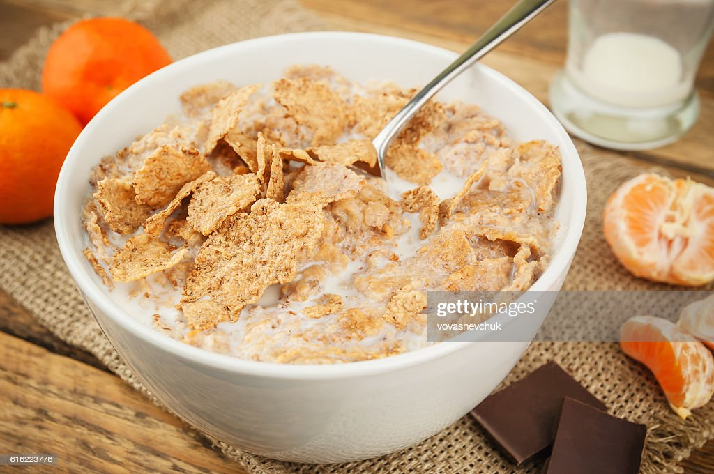 healthy and delicious breakfast : Stock Photo