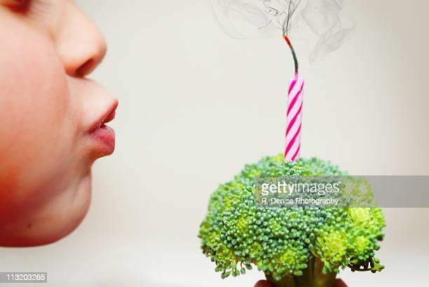 Healthy birthday celebration