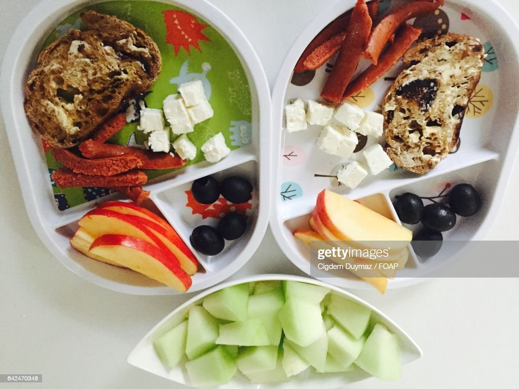 Healthy Breakfast In Plates High Res Stock Photo Getty Images