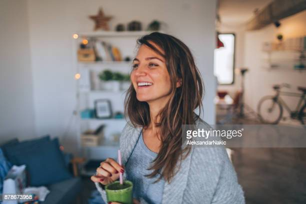 healthy breakfast in the morning - no make up stock pictures, royalty-free photos & images
