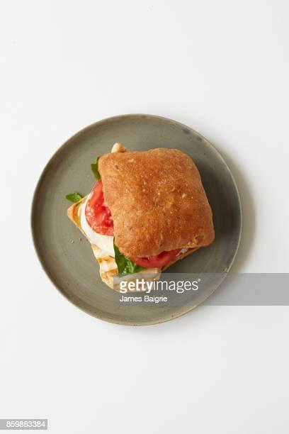 Healthy chicken sandwhich
