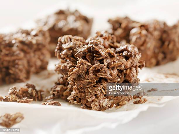 Healthy Chocolate Oat Bars