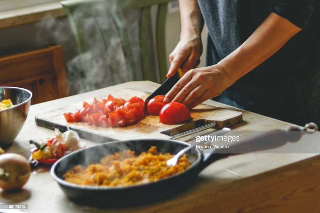 healthy cooking : Stockfoto