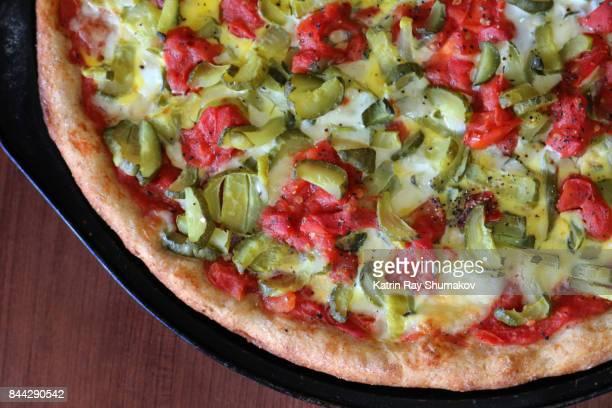 Healthy Delicious Vegetarian Pizza