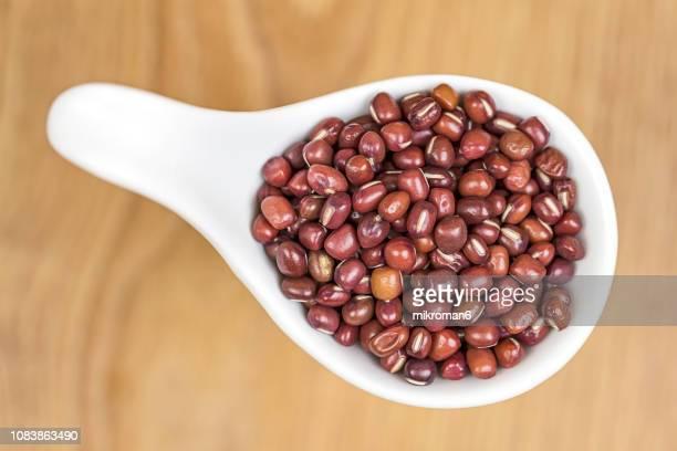 Healthy Eating, Adzuki Beans. Raw food ingredient