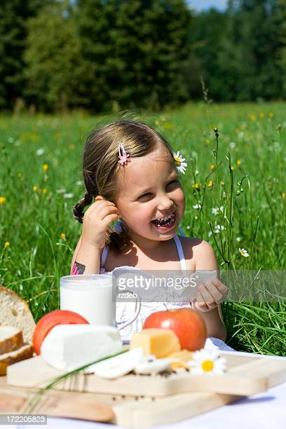 Healthy Eating - child and food