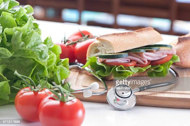 Alimentação Saudável conceito