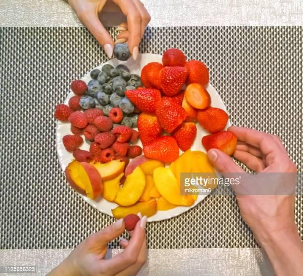 Healthy eating,  fresh fruits