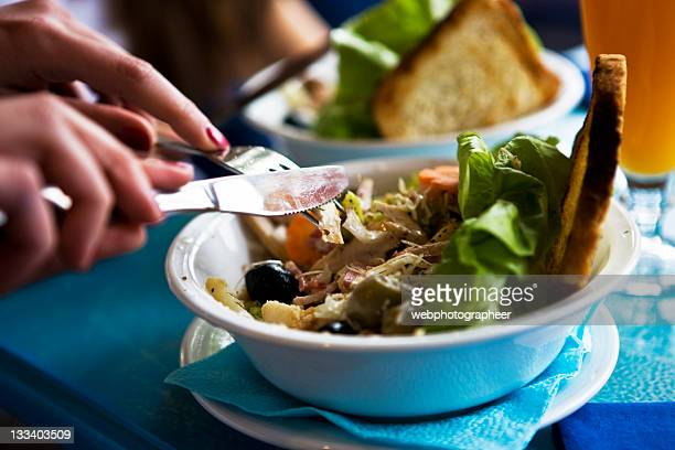 healthy eating - mediterranean food stock pictures, royalty-free photos & images