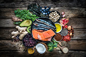 Healthy eating: selection of antioxidant group of food