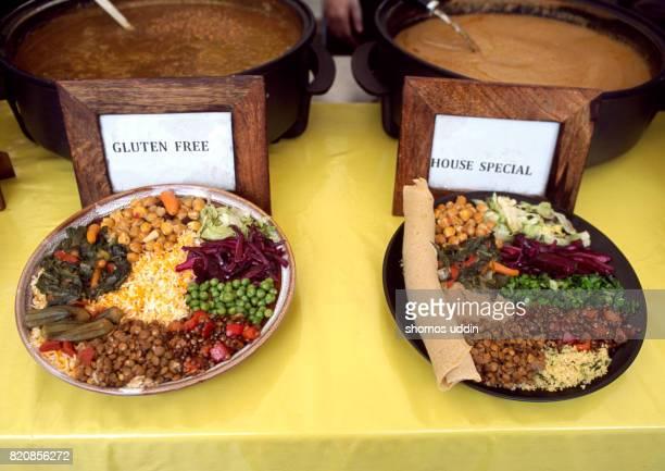 Healthy eating - street food