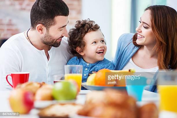 Saludable Desayuno familiar