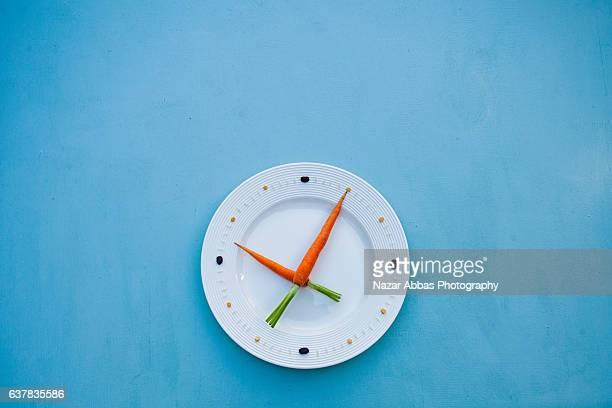 Healthy Food Clock.