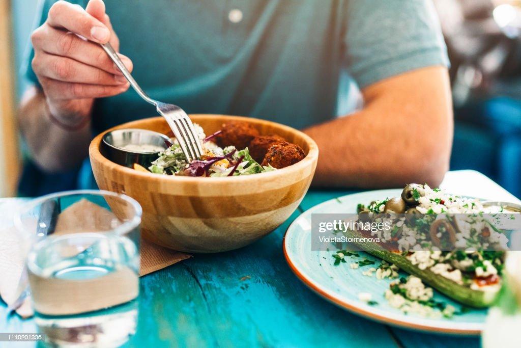 Gezonde voeding voor de lunch : Stockfoto