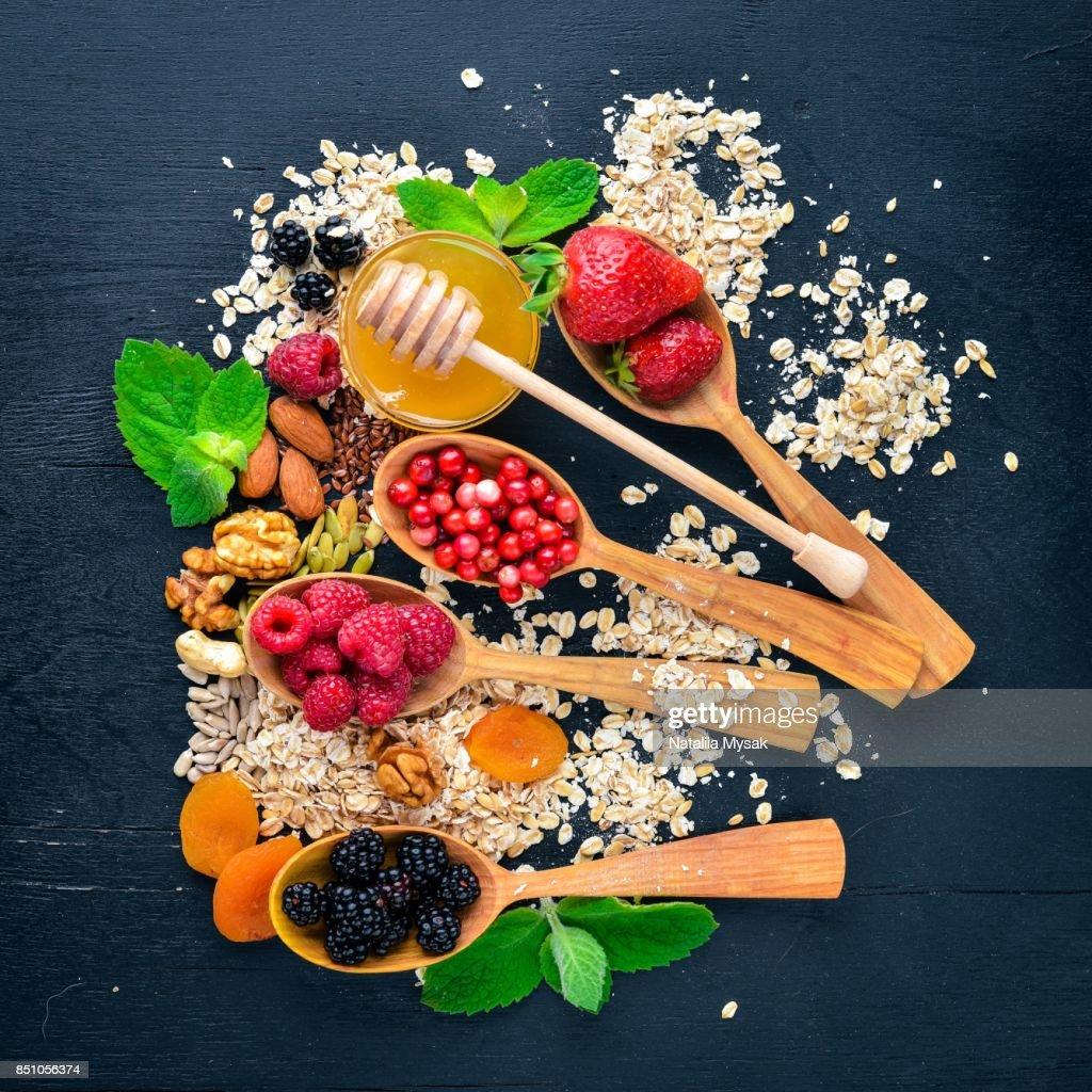 frutos secos alimentos saludables