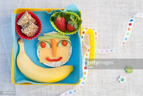 healthy food products made into smiley face - smiley face stock pictures, royalty-free photos & images