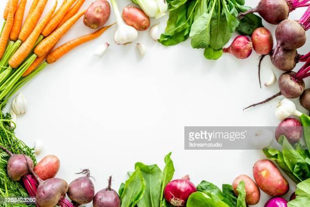healthy food vegetables carrot beet potato