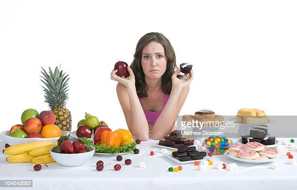 Healthy food vs. junk food