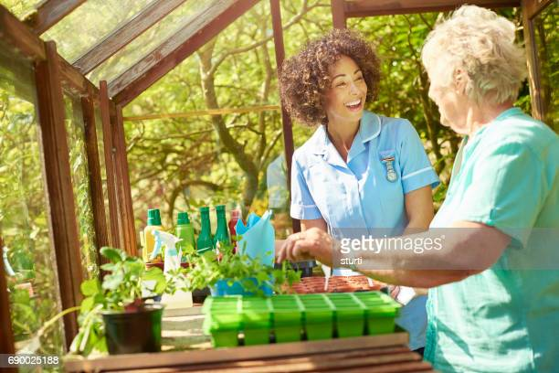 healthy healthcare - house call stock photos and pictures