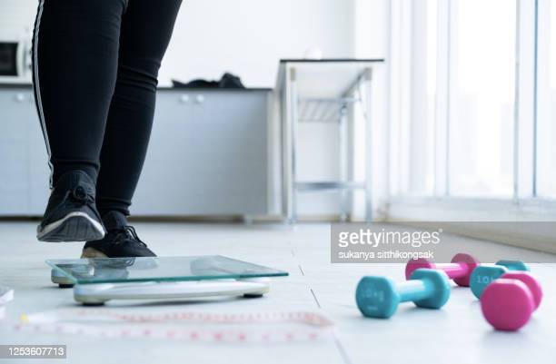 healthy lifestyle, diet nutrition concept. - scale stock pictures, royalty-free photos & images