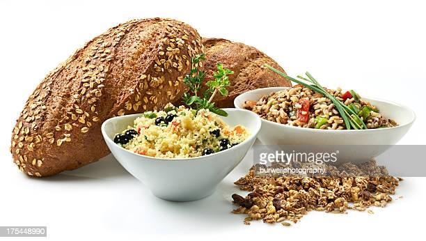 Mode de vie sain, des céréales complètes