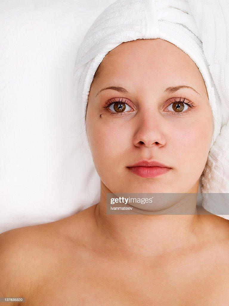 healthy looking woman
