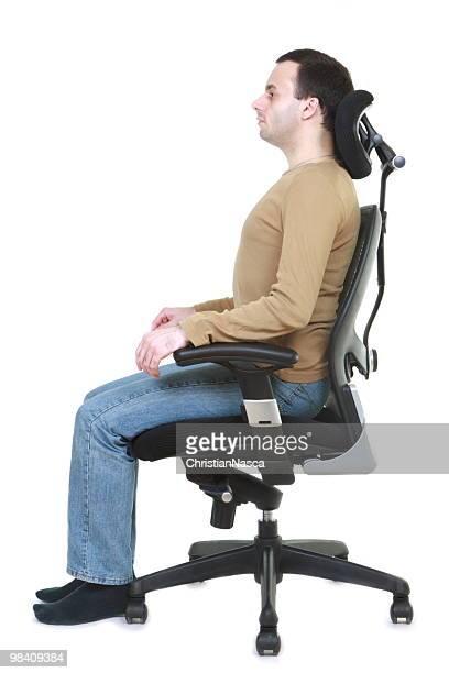 healthy posture (series) - ergonomics stock photos and pictures