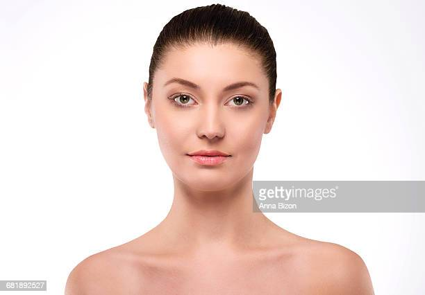 Healthy skin of very natural woman. Debica, Poland