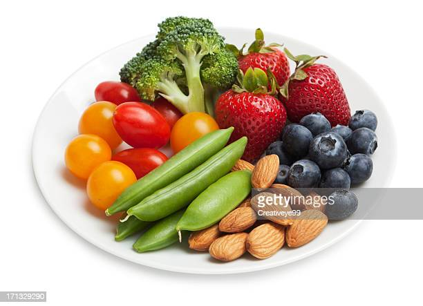 healthy snack plate - snack stock pictures, royalty-free photos & images