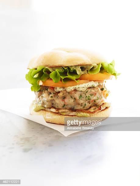 Healthy Snapper Burger