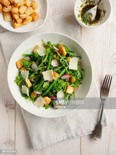 Healthy Summer green salad