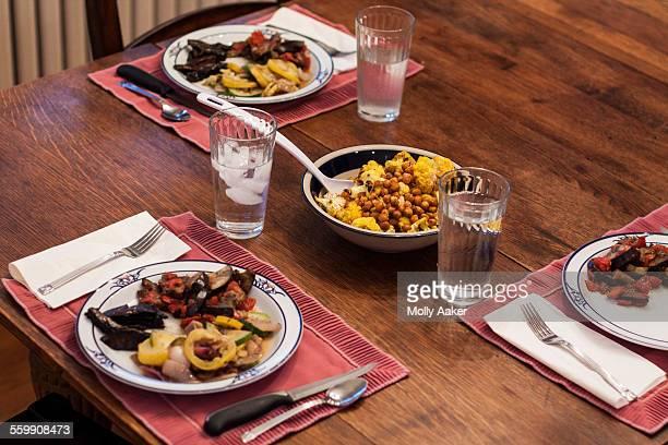 Healthy Summer vegan / vegetarian dinner