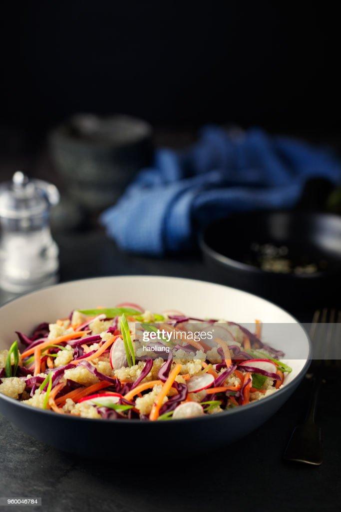 Gesunde vegane Schüssel : Stock-Foto