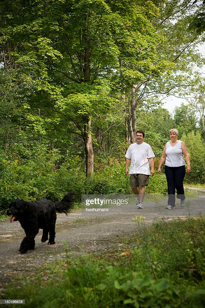 Healthy walk : Stock Photo