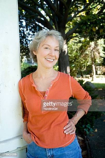 healthy woman over 60! - 60 69 years stock photos and pictures