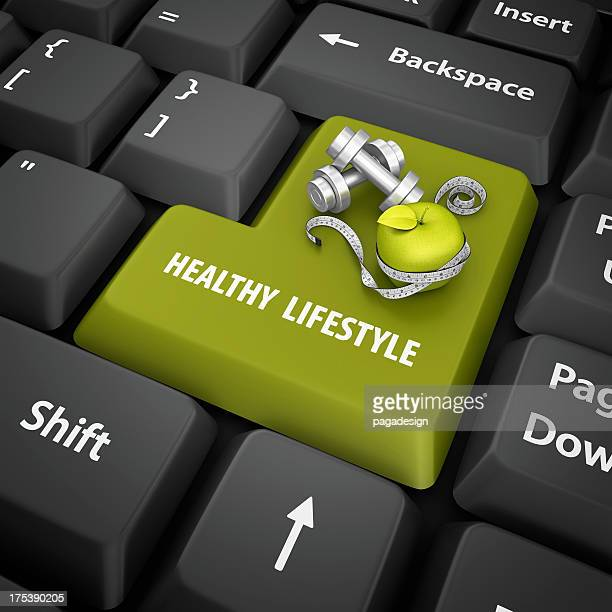 healty lifestyle enter key