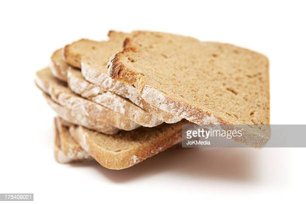 Heap of Bread Slices