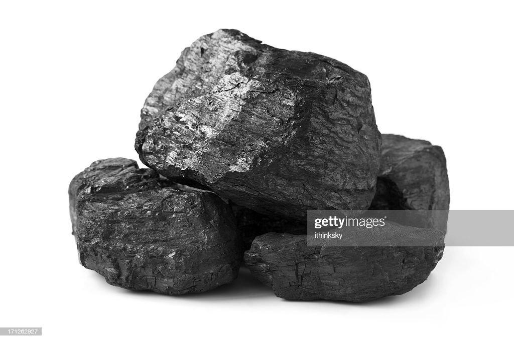 Heap of coal : Stock Photo