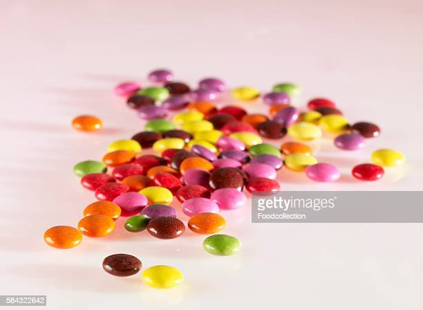 A heap of colourful Smarties