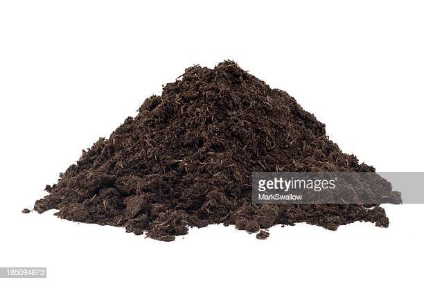 heap of compost - heap stock pictures, royalty-free photos & images