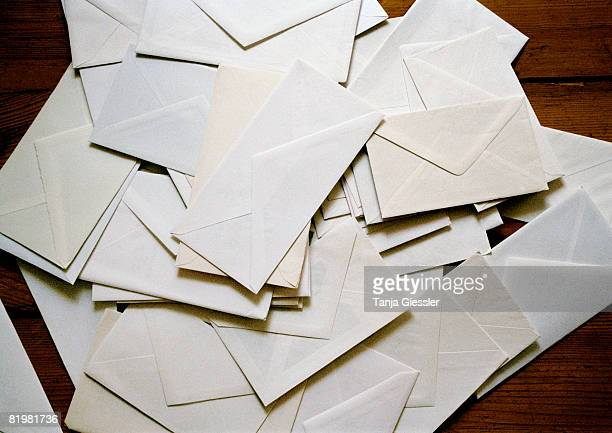 A heap of envelopes